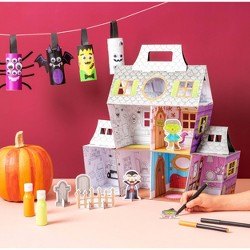 Color Your Own Haunted House - Spritz™