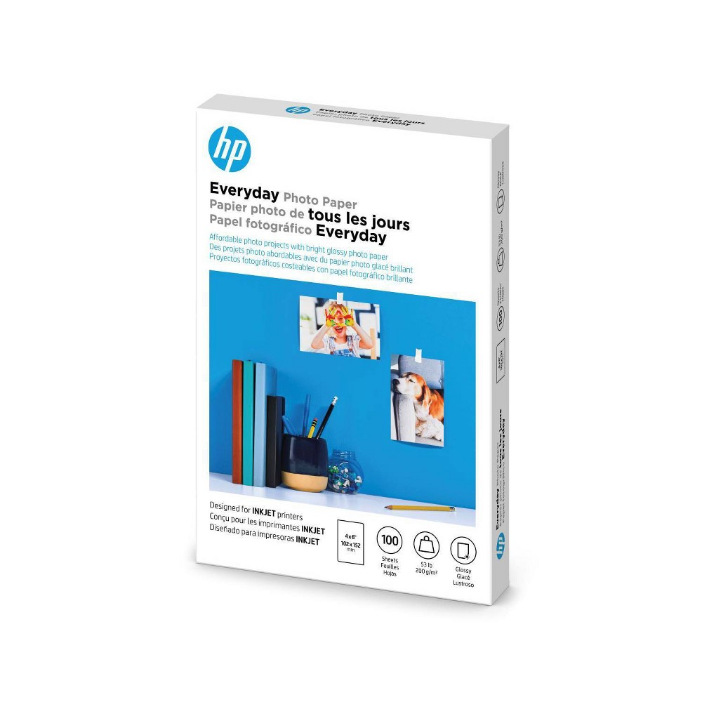 Hp Everyday Glossy Photo Paper Cr759a