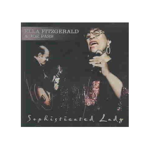 E Fitzgerald &  J Pass - Sophisticated Lady (CD) - image 1 of 1