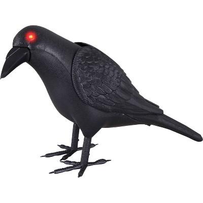 Halloween Animated Crow Decor