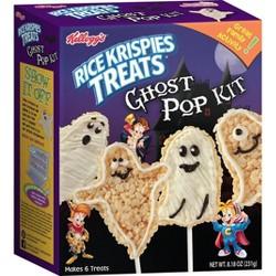 Brand Castle Rice Krispie Treat Ghost Pop Kit - 11.97oz