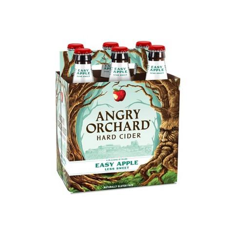 Angry Orchard Easy Apple Hard Cider- 6pk/12 fl oz Bottles - image 1 of 4
