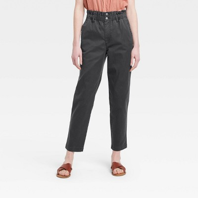 Women's High-Rise Tapered Paperbag Jeans - Universal Thread™