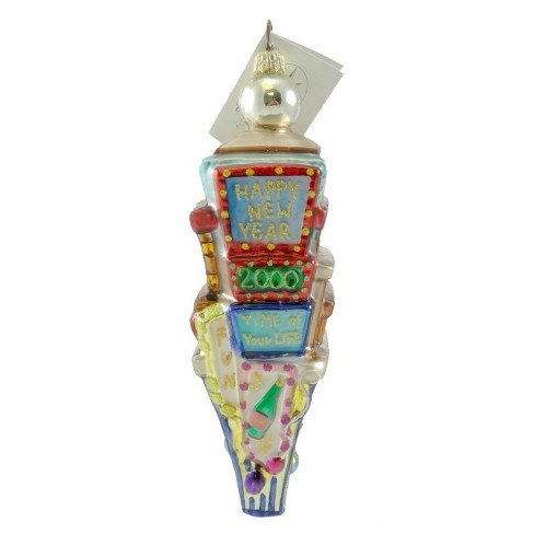 Christopher Radko Times Square/ Count Down Ornament New Years 2000 - image 1 of 2