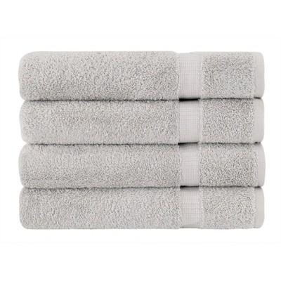 4pc Villa Bath Towel Set Silver - Royal Turkish Towel
