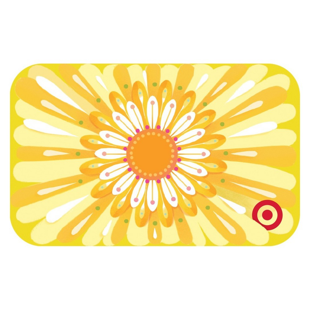 Big Flower Target Giftcard Big Flower Target Giftcard