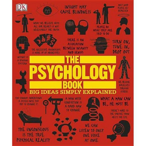 The Psychology Book - (Big Ideas) (Hardcover) - image 1 of 1