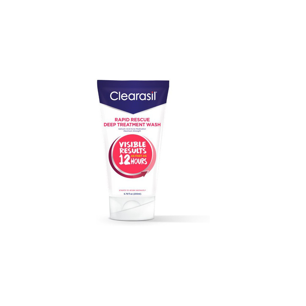 Image of Clearasil Rapid Rescue Deep Treatment Wash - 6.78oz