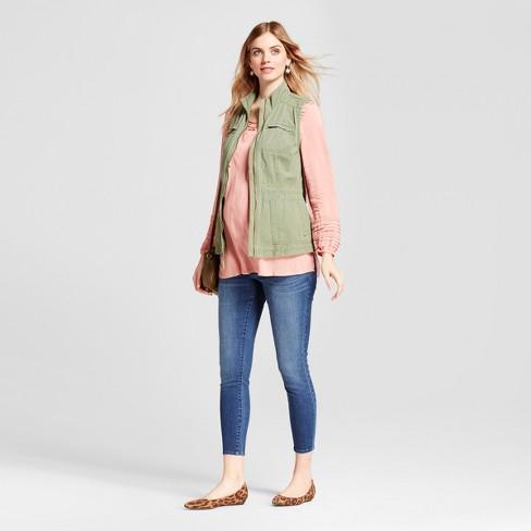 a35937b02b3e9 Maternity Adjustable Waistband Post Pregnancy Jeans - Isabel ...