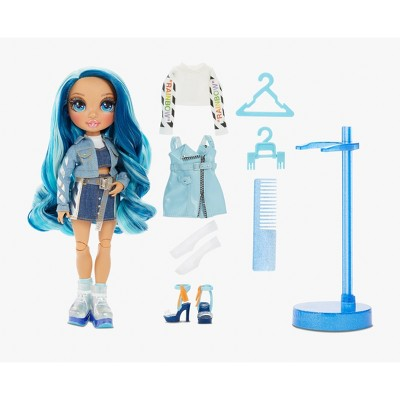 Rainbow High Skyler Bradshaw – Blue Fashion Doll with 2 Outfits