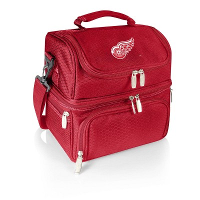 NHL Detroit Red Wings Pranzo Dual Compartment Lunch Bag - Red