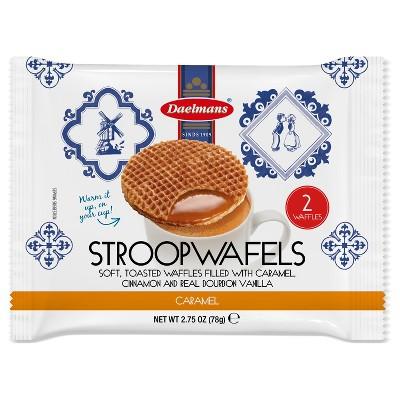 Daelmans Caramel Stroopwafels - 2.75oz/2ct