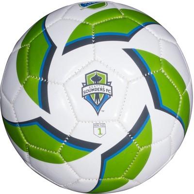 MLS Seattle Sounders Mini Soccer Ball Size 1