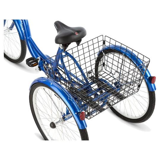 "Schwinn Adult Meridian 26"" 3-Wheel Bike - Blue, Adult Unisex image number null"