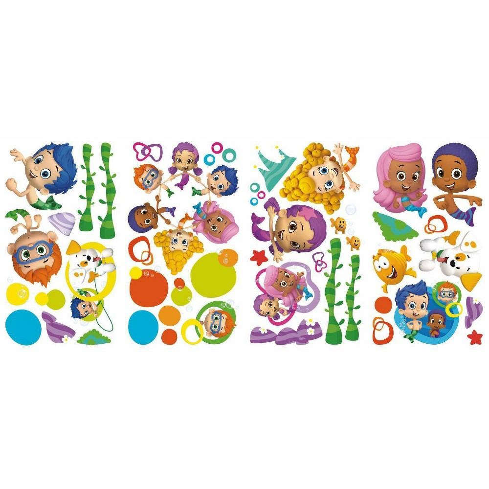 Image of Bubble Guppies Peel and Stick Wall Decal