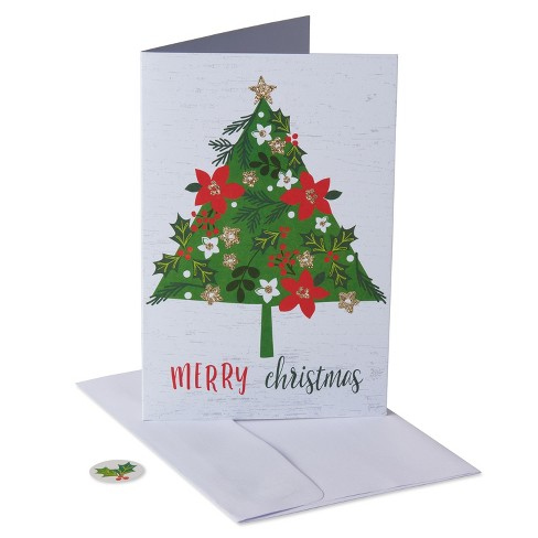 40ct American Greetings Tree Holiday Boxed Cards - 40ct American Greetings Tree Holiday Boxed Cards : Target