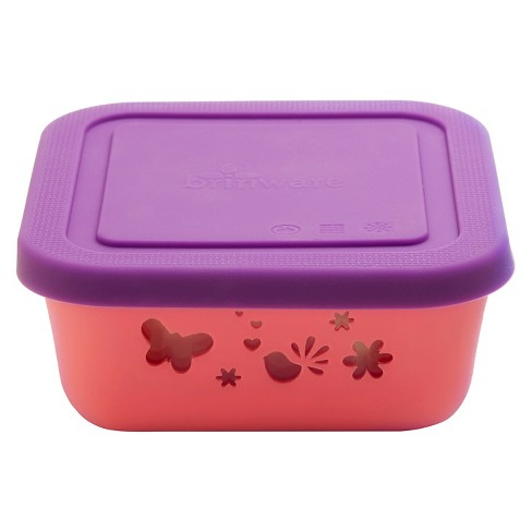 Brinware Garden Party Glass and Silicone Food Container - image 1 of 2