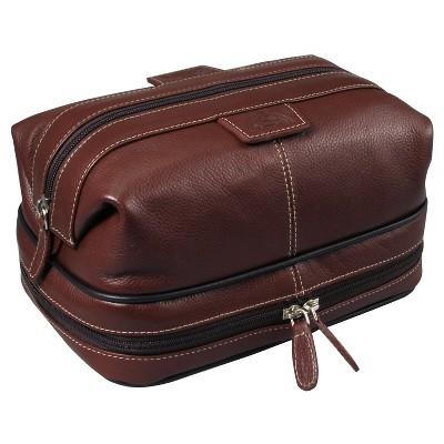 Dopp Men's Country Saddle Travel Kit with Bonus Items - Brown