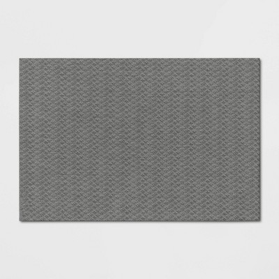 2'X3' Milan Textile Utility Mat Gray - Made By Design™