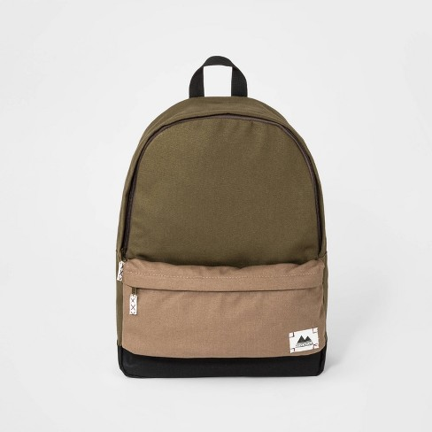 Boys' Clolorblock Backpack - art class™ Olive Green - image 1 of 3