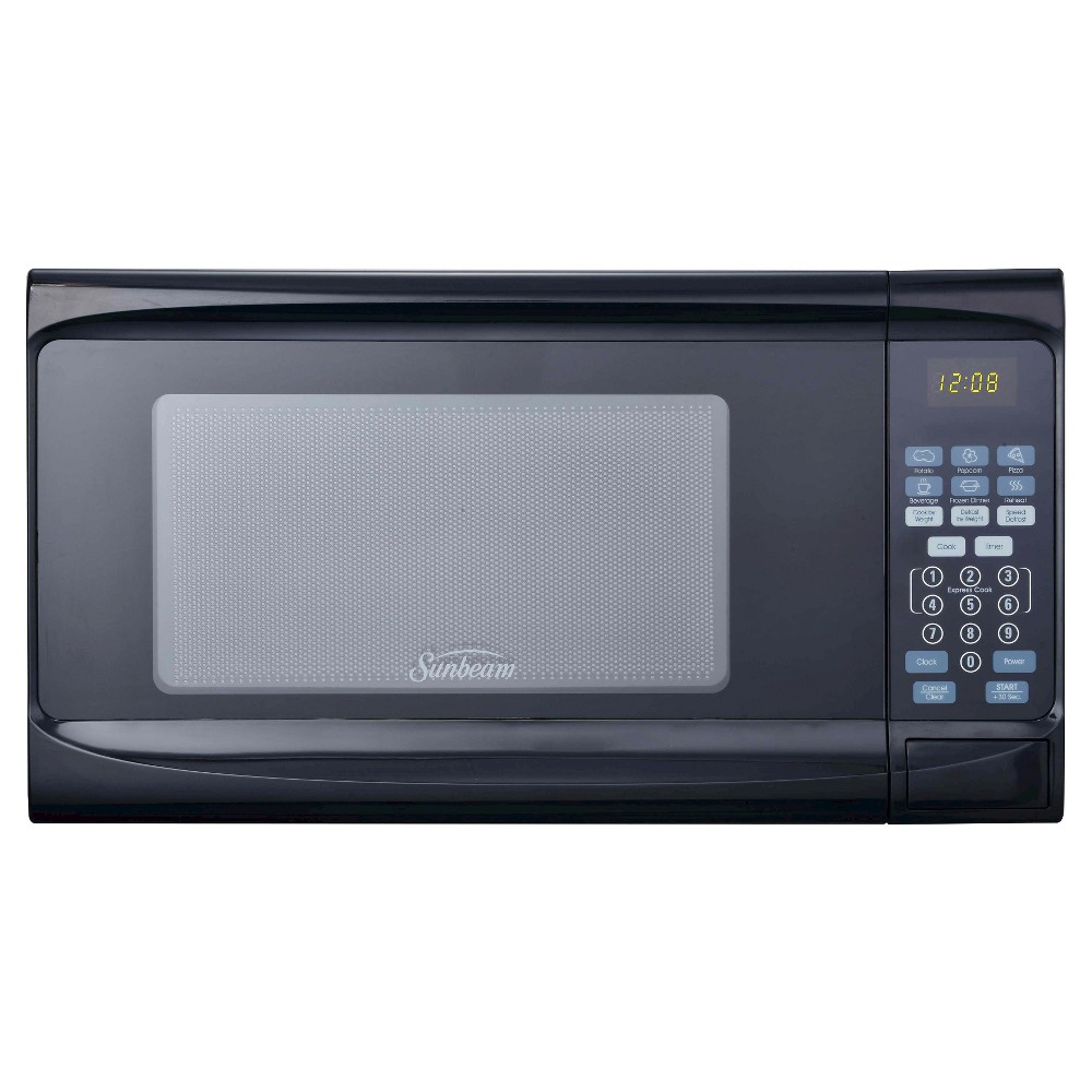 Sunbeam 0.7 cu ft Digital Microwave Oven – Black 12737266