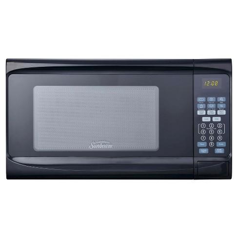 Sunbeam 0.7 cu ft Digital Microwave Oven - Black - image 1 of 7