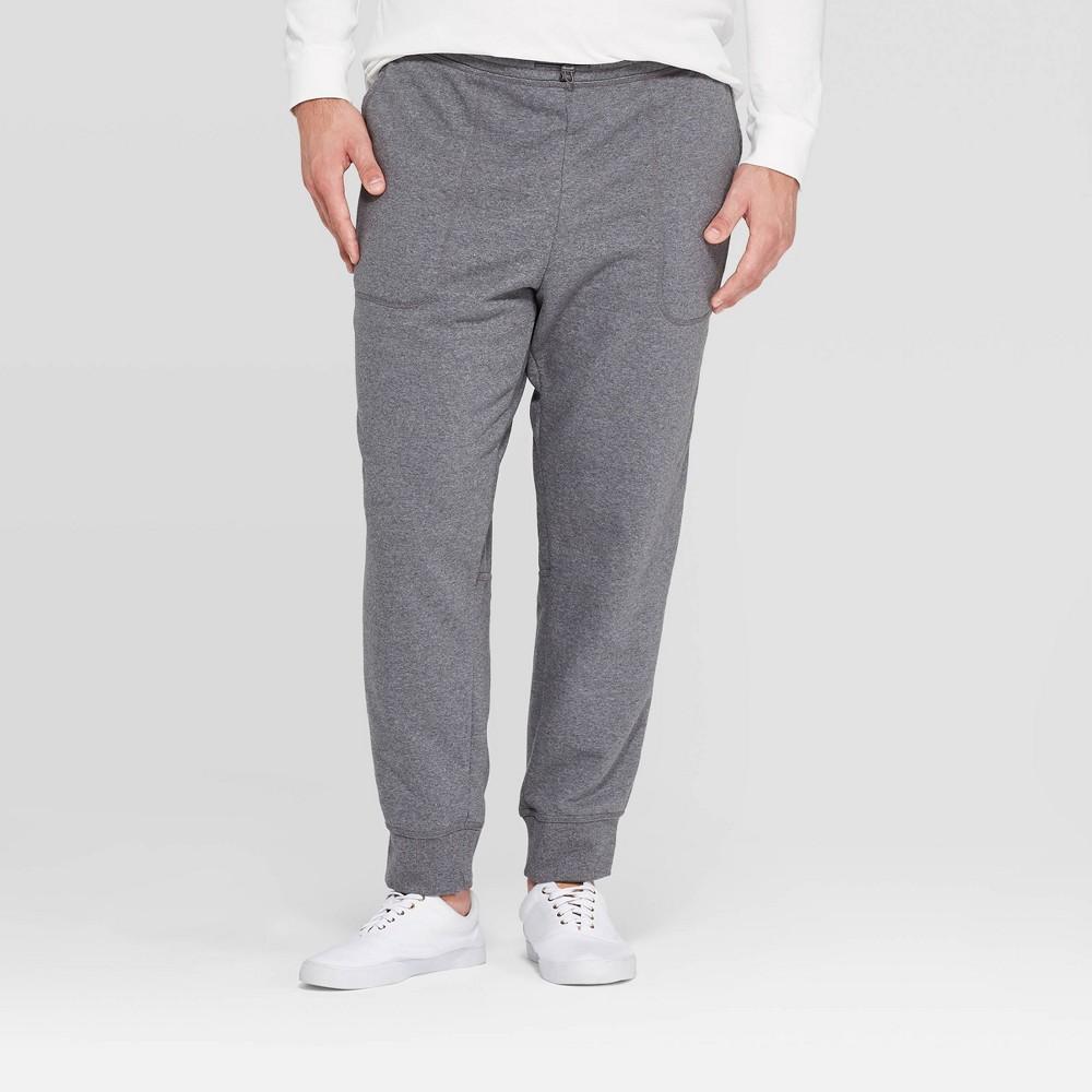 Men's Big & Tall 31.5 Jogger Pants - Goodfellow & Co Gray 3XBT, Men's was $24.99 now $17.49 (30.0% off)