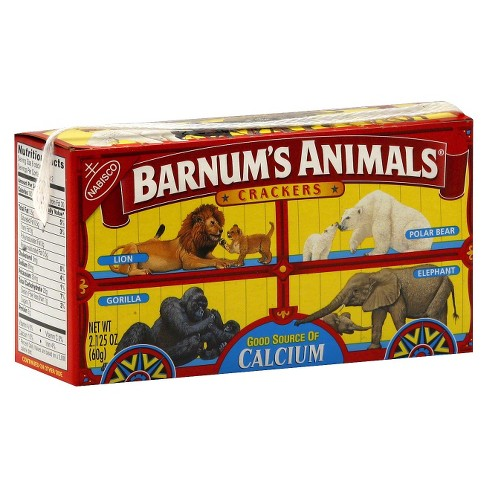 Nabisco Barnum's Animals Crackers -2.125oz - image 1 of 1