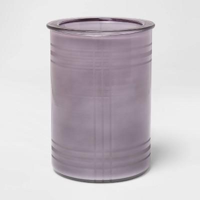 "6.5"" x 4.5"" Botanic Etched Glass Scent Warmer Gray - Threshold™"