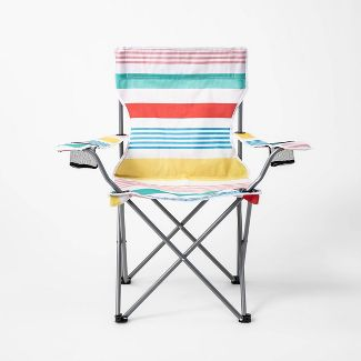 Adult Camp Chair Variegated Stripe - Sun Squad™