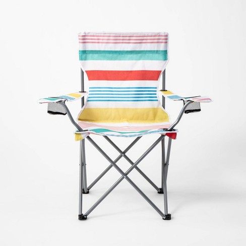 Adult Camp Chair Variegated Stripe - Sun Squad™ - image 1 of 5