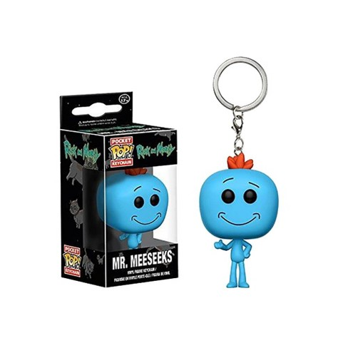 Funko Rick & Morty Funko Pop Keychain Mr. Meeseeks - image 1 of 1