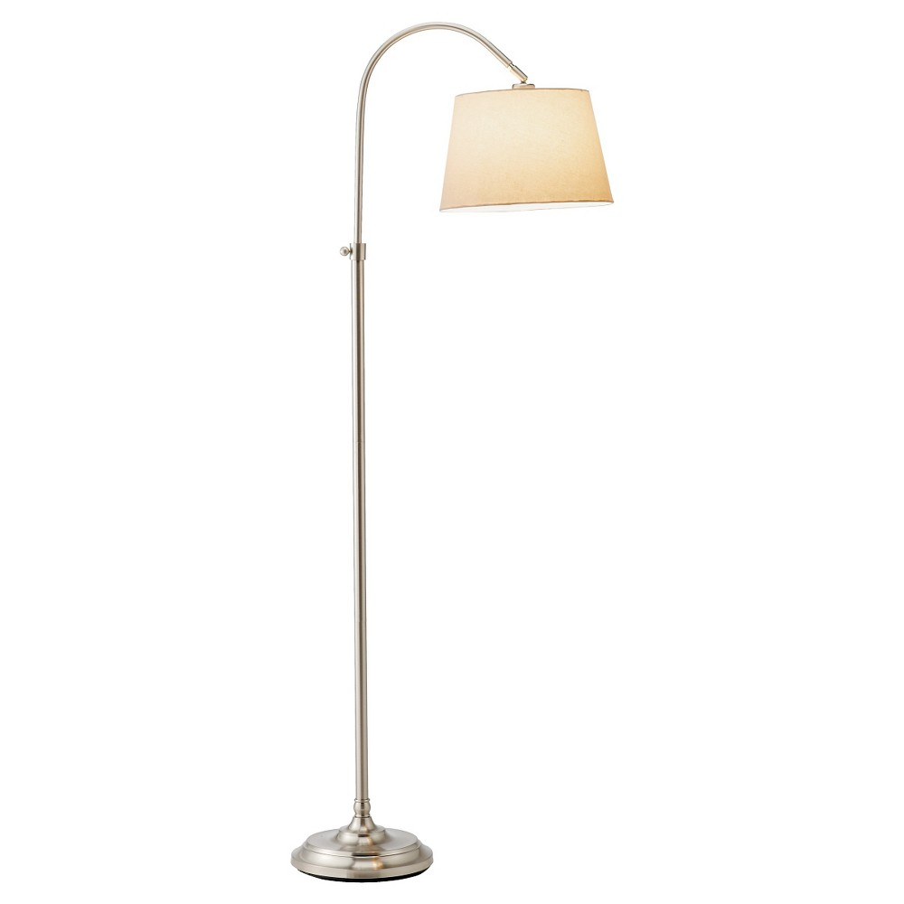 Image of Adesso Bonnet Floor Lamp - Silver