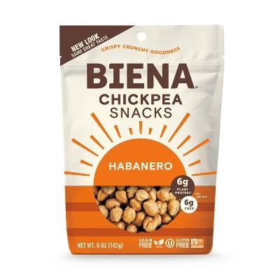 Biena Habanero Roasted Chickpeas - 5oz