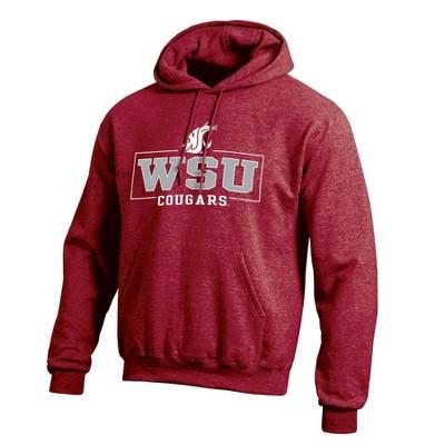 NCAA Washington State Cougars Men's Cotton Hoodie