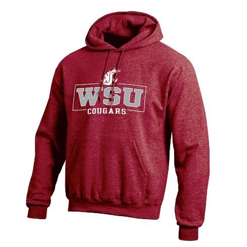 NCAA Washington State Cougars Men's Cotton Hoodie - image 1 of 3