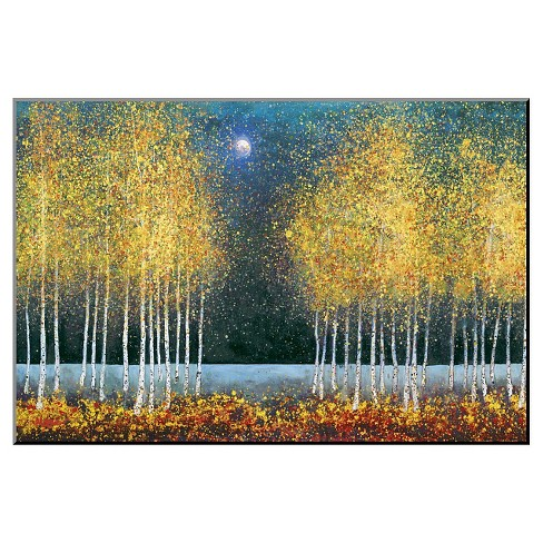 Art.com Decorative Wall Panel Blue Moon - Gold - image 1 of 1