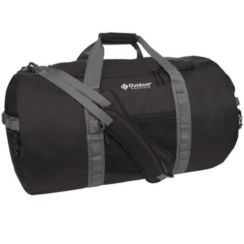 TORG Outdoor Products Atwater Packable Backpack Duffel Bag with Handles, Black - image 1 of 3