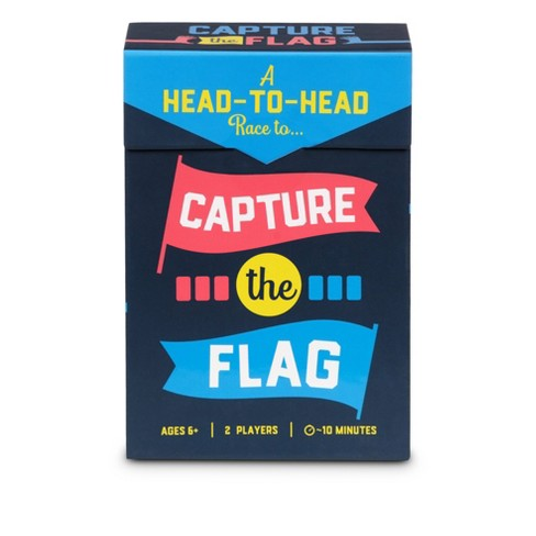 Capture The Flag Head To Head Family Card Game - image 1 of 4