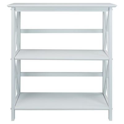 "34"" 3-Shelf Bookcase - Flora Home"