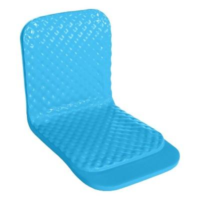 TRC Recreation Super Soft 19 Inch Foam Folding Lake Poolside Chair, Marina Blue