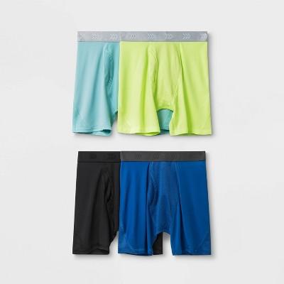 Boys' 4pk Mesh Boxer Briefs - All in Motion™ Blue