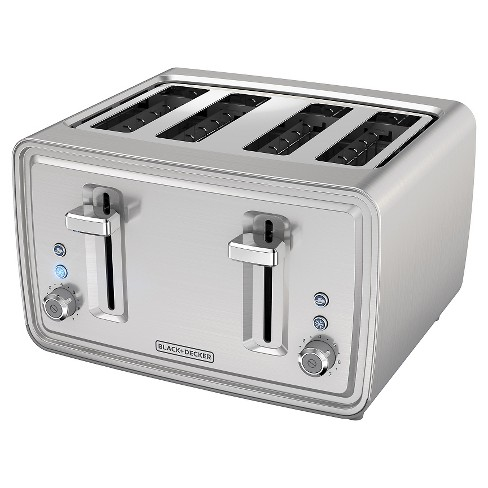 BLACK+DECKER 4 Slice Toaster - Stainless Steel TR4900SSD - image 1 of 4