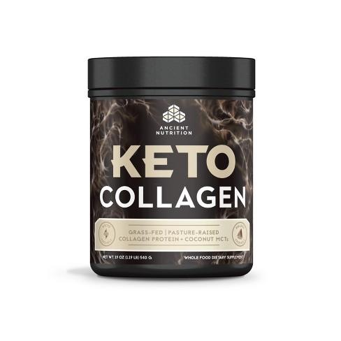 Ancient Nutrition KetoCOLLAGEN Protein Powder - 19oz - image 1 of 4