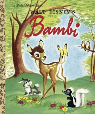 Bambi ( Little Golden Books)(Hardcover)by Walt Disney Productions