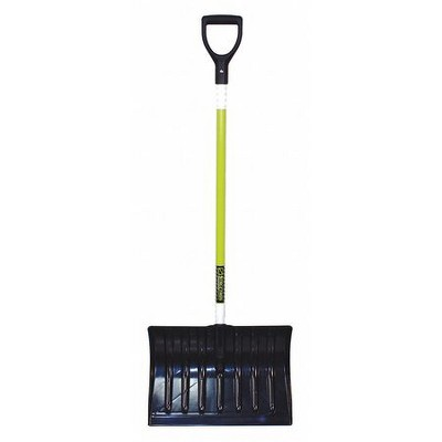 "SEYMOUR MIDWEST STRUCTRON 96849GRA 18"" Poly Snow Shovel with 43"" Fiberglass"