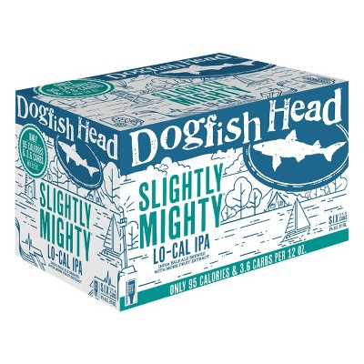 Dogfish Head Slightly Mighty Lo-Cal IPA Beer - 6pk/12 fl oz Cans