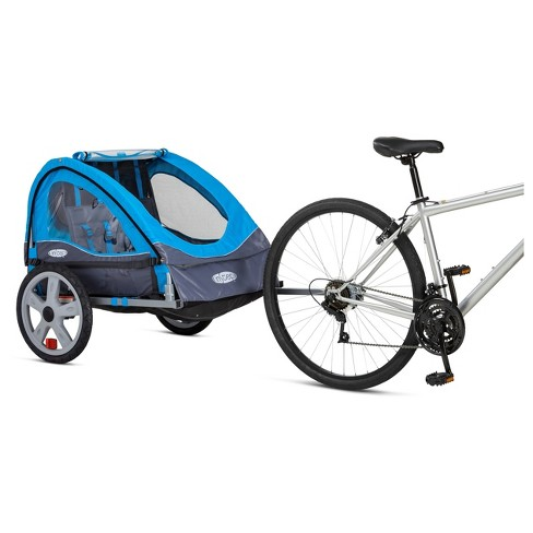 InSTEP™ Take 2 Double Bike Trailer - Light Blue - image 1 of 6