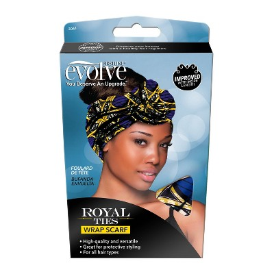 Evolve Products Royal Ties Wrap Scarf - Blue
