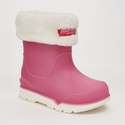 Toddler Girls' Surprize by Stride Rite Conquer Slip-On Rain Boots - Pink